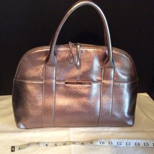 Goldish-Bronze Colored Handbag